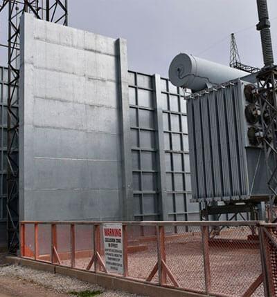 Muros Cortafuego y Antiexplosión para Transformadores