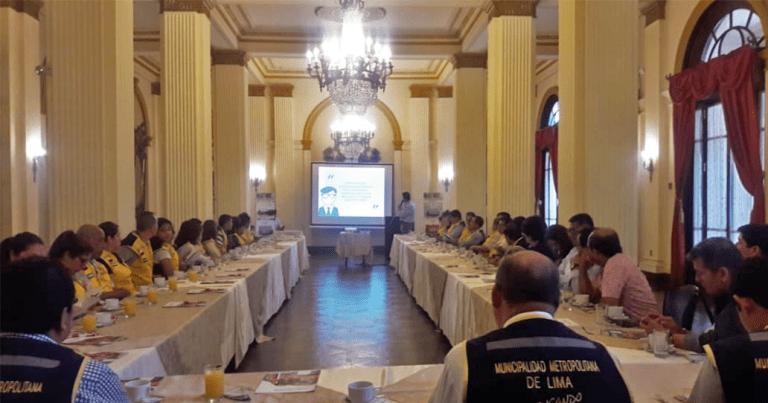 Capacitación de Protección Pasiva Cortafuego a Defensa Civil – Municipalidad de Lima
